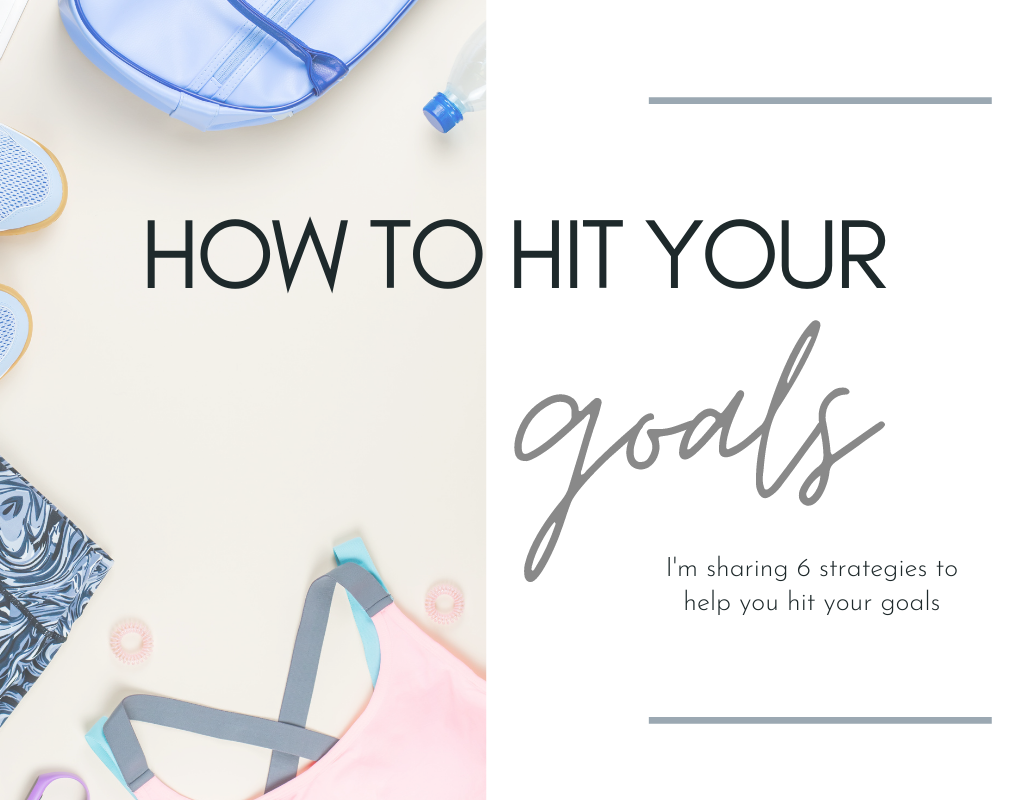 Tips and motivation for hitting your goals. Download your own copy of 6 strategies to hit your goals
