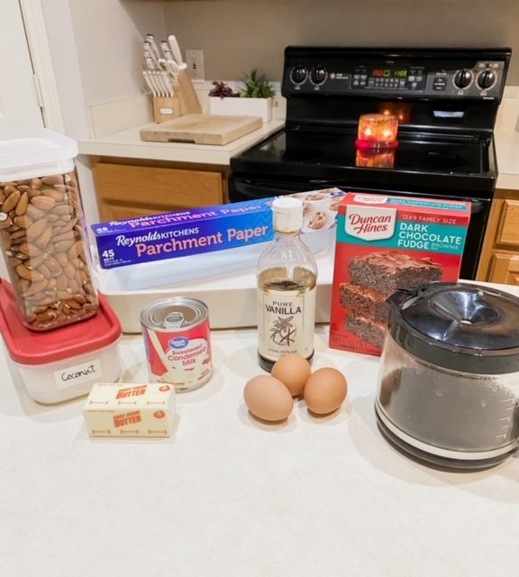 all the ingredients needed for the recipe