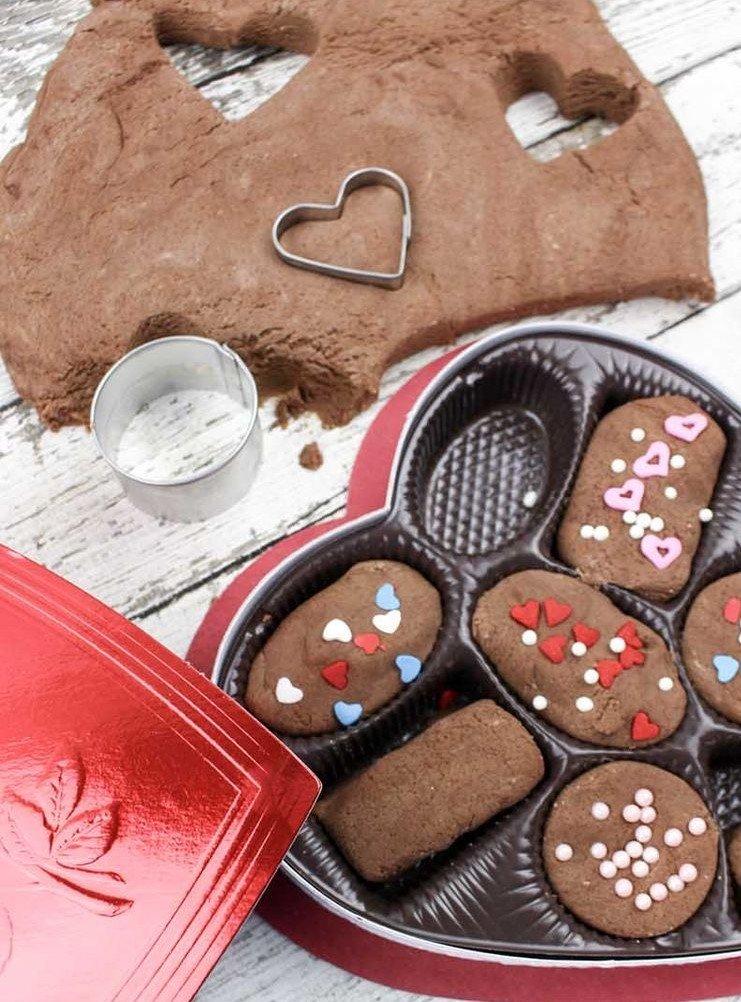 chocolate play doh activity