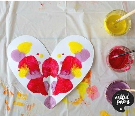 heart symmetry activity