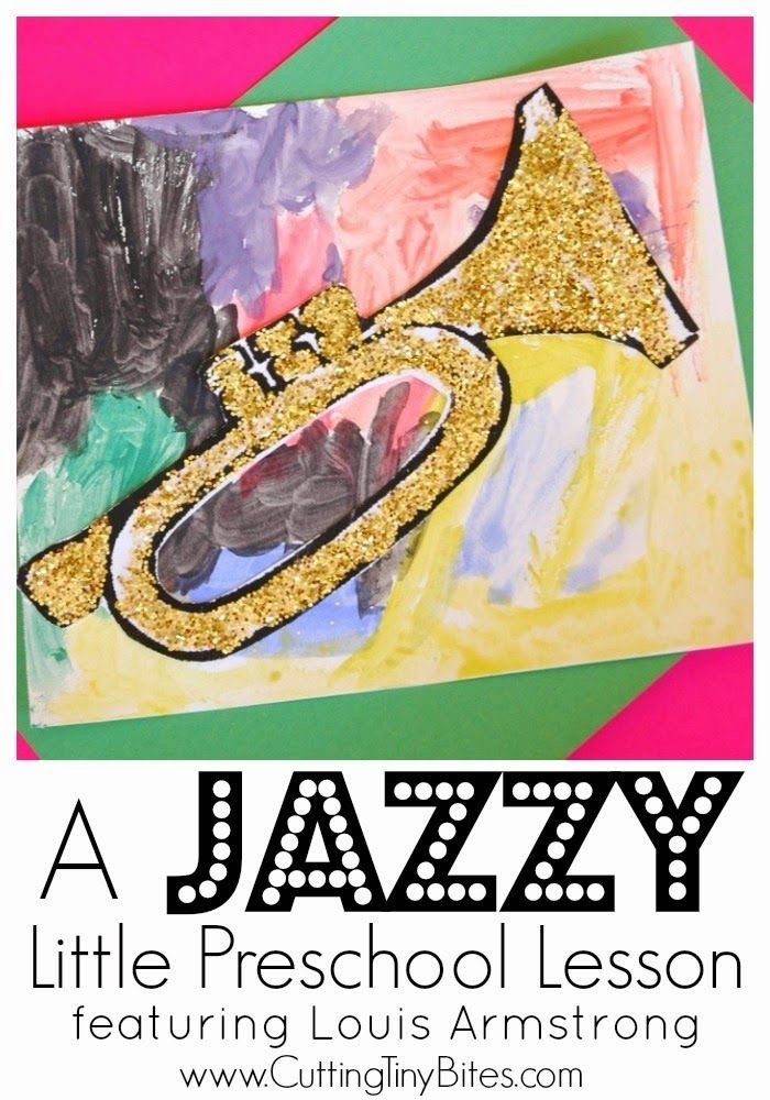 painting to jazz activity